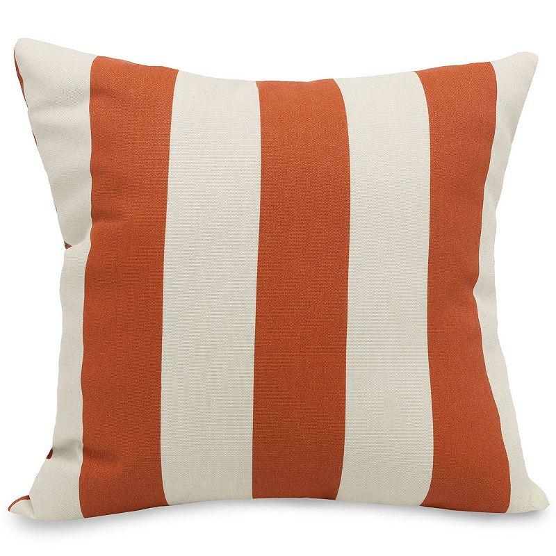 Majestic Home Goods Striped Indoor Outdoor Throw Pillow