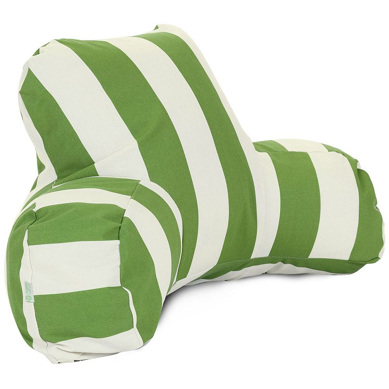 Majestic Home Goods Striped Indoor Outdoor Reading Pillow
