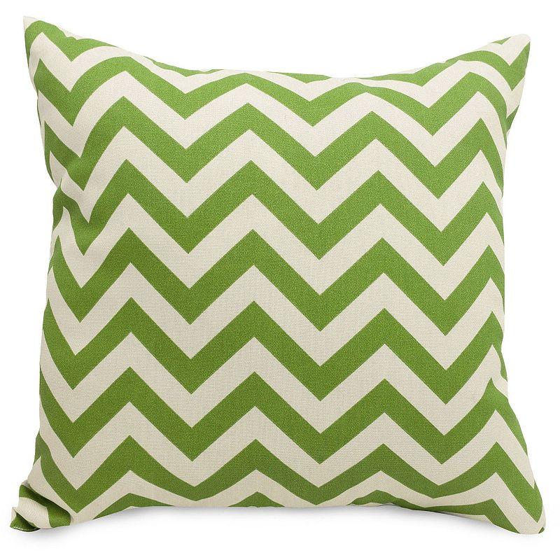 Throw Pillow Home Goods : Majestic Home Goods Chevron Indoor Outdoor Throw Pillow DealTrend