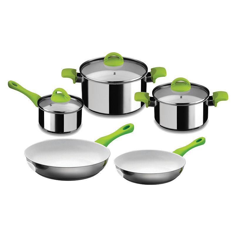 Mepra 8-pc. Nonstick Ceramic Cookware Set