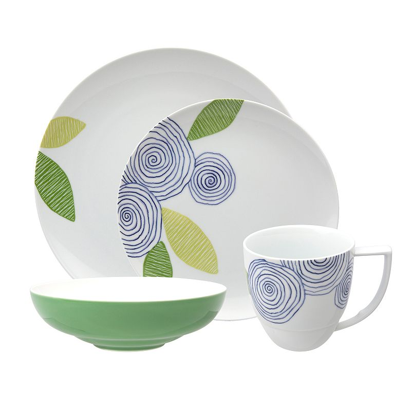 Nikko Artist Floral 4-pc. Place Setting