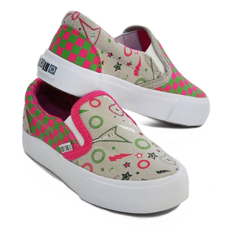 XOLO Girl Rock Slip-On Shoes- Toddler Girls