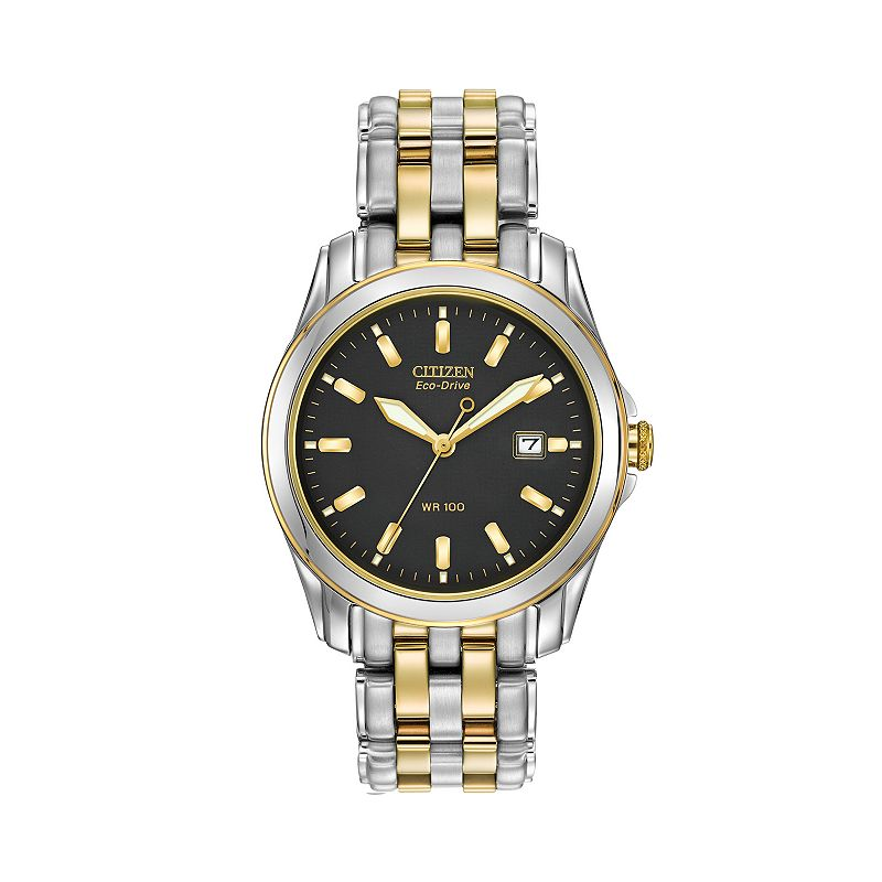 Citizen Men's Eco-Drive Two Tone Stainless Steel Watch - BM6734-55E