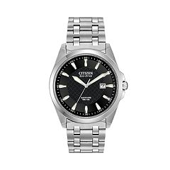 Citizen Men's Eco-Drive Corso Stainless Steel Watch BM7100-59E