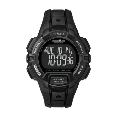 Timex Watch - Men's Ironman Rugged Sport 30-Lap Resin Digital Chronograph