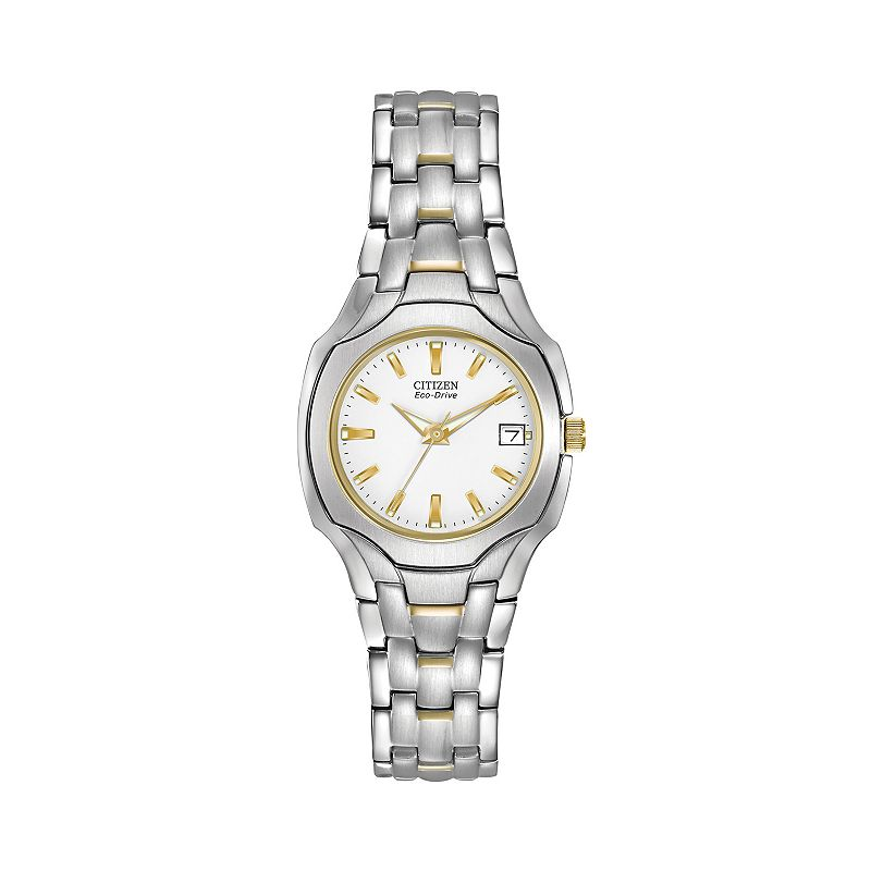 Citizen Eco-Drive Women's Two Tone Stainless Steel Watch - EW1254-53A