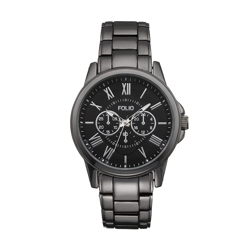 Folio Men's Stainless Steel Watch