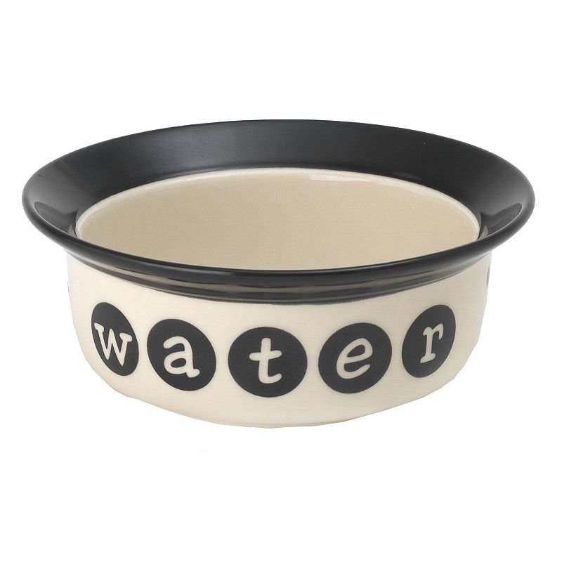 PetRageous Designs Pooch Basics 2-Cup Pet Water Bowl