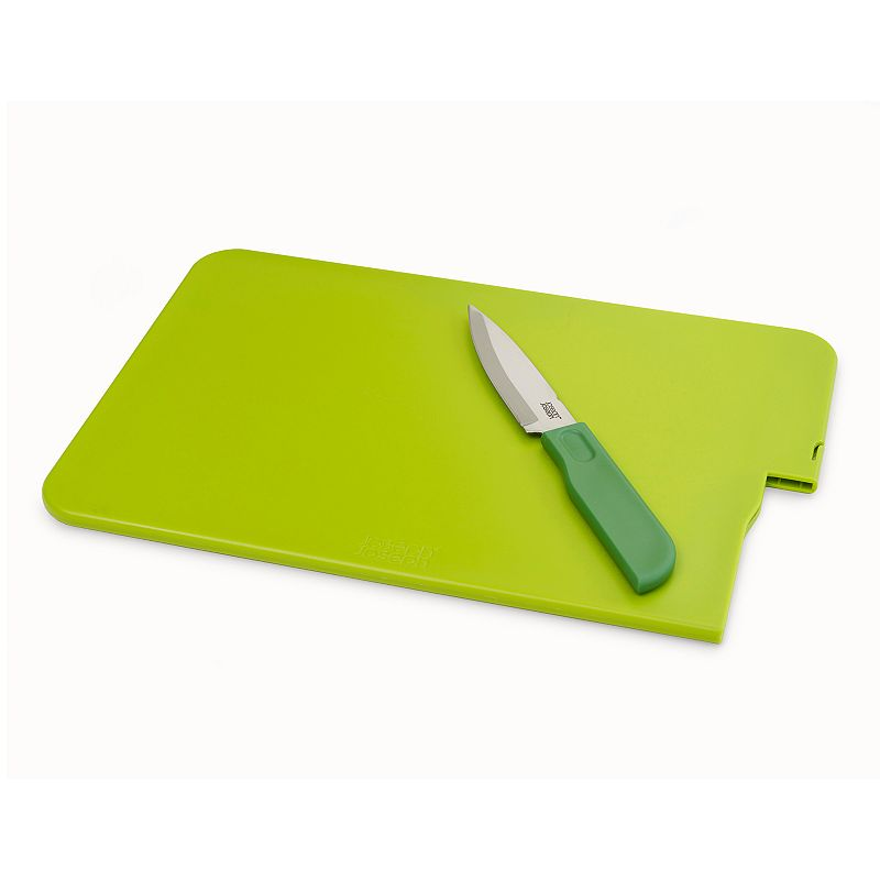 Joseph Joseph Slice and Store 2-pc. Cutting Board and Knife Set