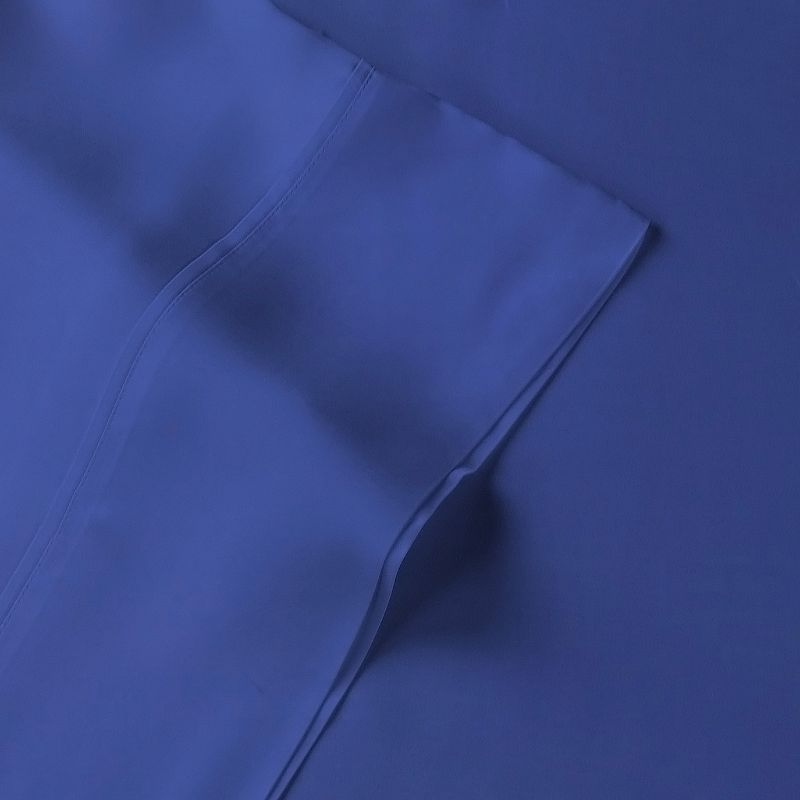 Brielle Solid Rayon from Bamboo Satin Sheet Set - Queen
