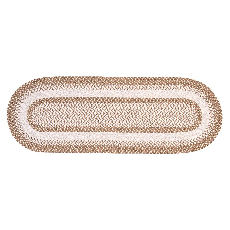 Colonial Mills Play Date Braided Reversible Rug Runner - 2' x 8' Oval