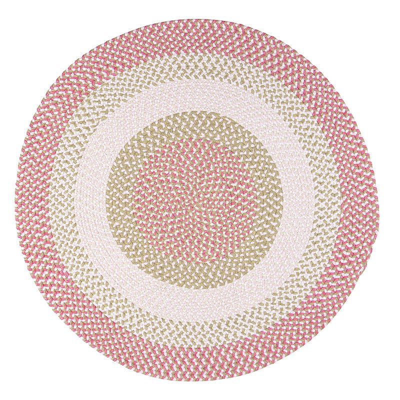 Colonial Mills Play Date Braided Reversible Rug - 6' Round