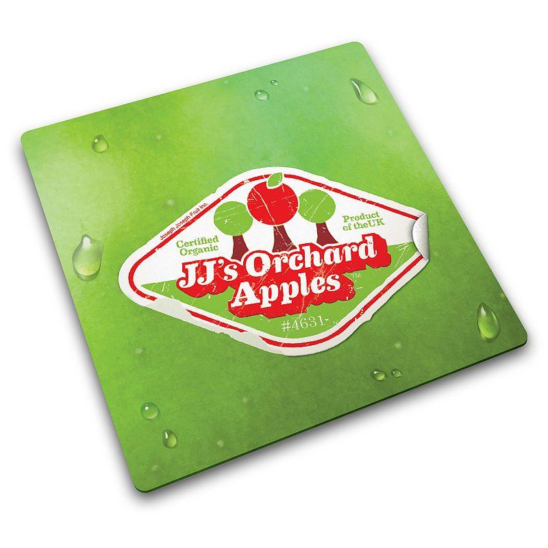 Joseph Joseph Apple Sticker Glass Chopping Board