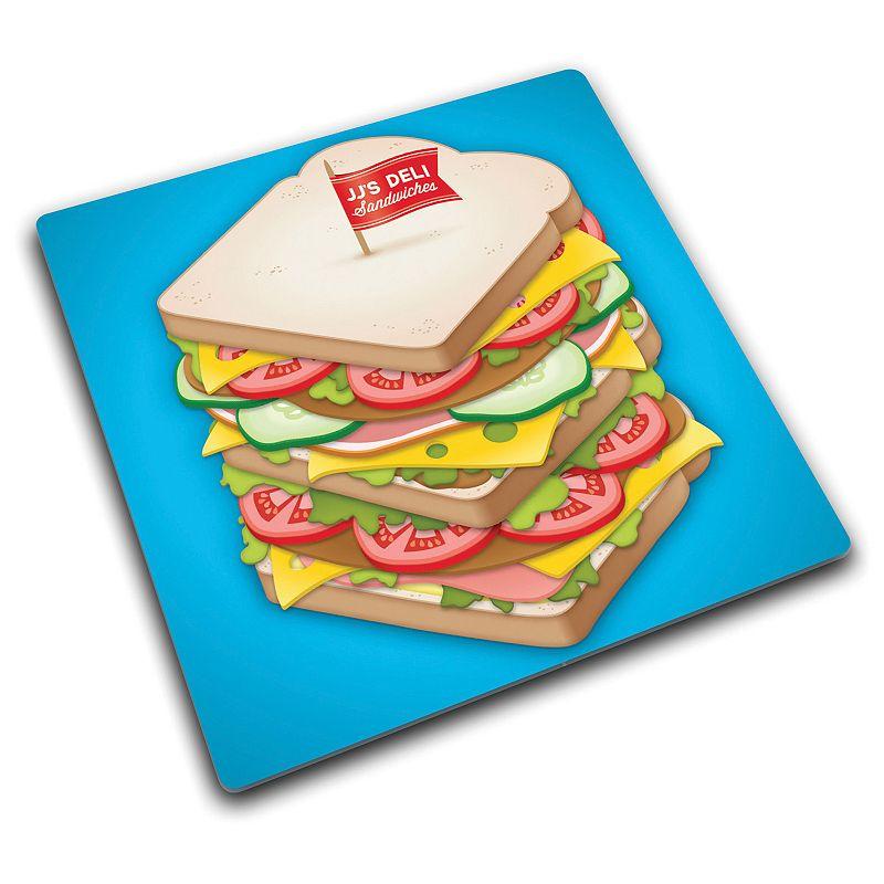 Joseph Joseph Sandwich Glass Chopping Board