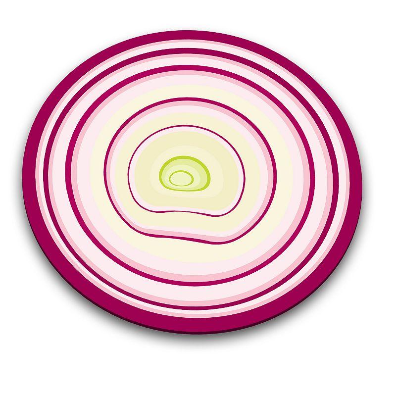 Joseph Joseph Onion Glass Chopping Board