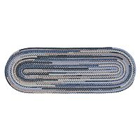 Colonial Mills Perfect Print Braided Reversible Rug Runner - 2' x 8' Oval