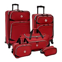 Beverly Hills Country Club 5-Piece Luggage Set