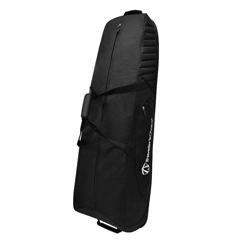 Traveler's Choice Wheeled Golf Club Travel Bag, Black