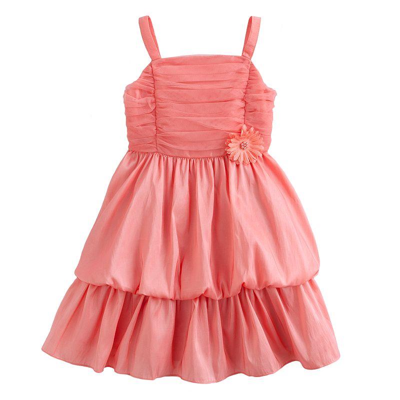 Princess Faith Ruched Dress - Toddler