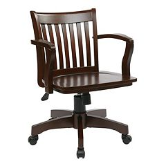 Office Star Products Deluxe Banker's Chair by