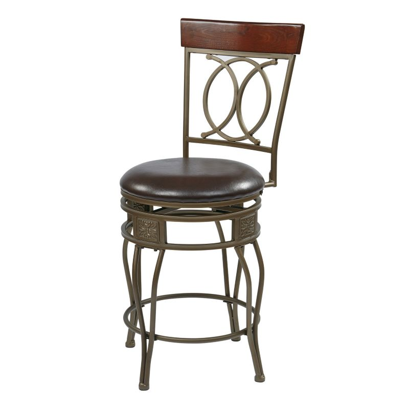 Brown Antiqued Chair Kohl S