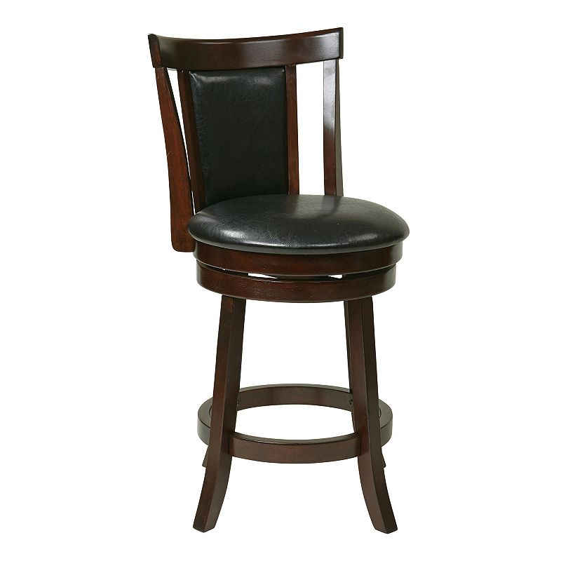 faux leather padded bar stool kohl 39 s. Black Bedroom Furniture Sets. Home Design Ideas