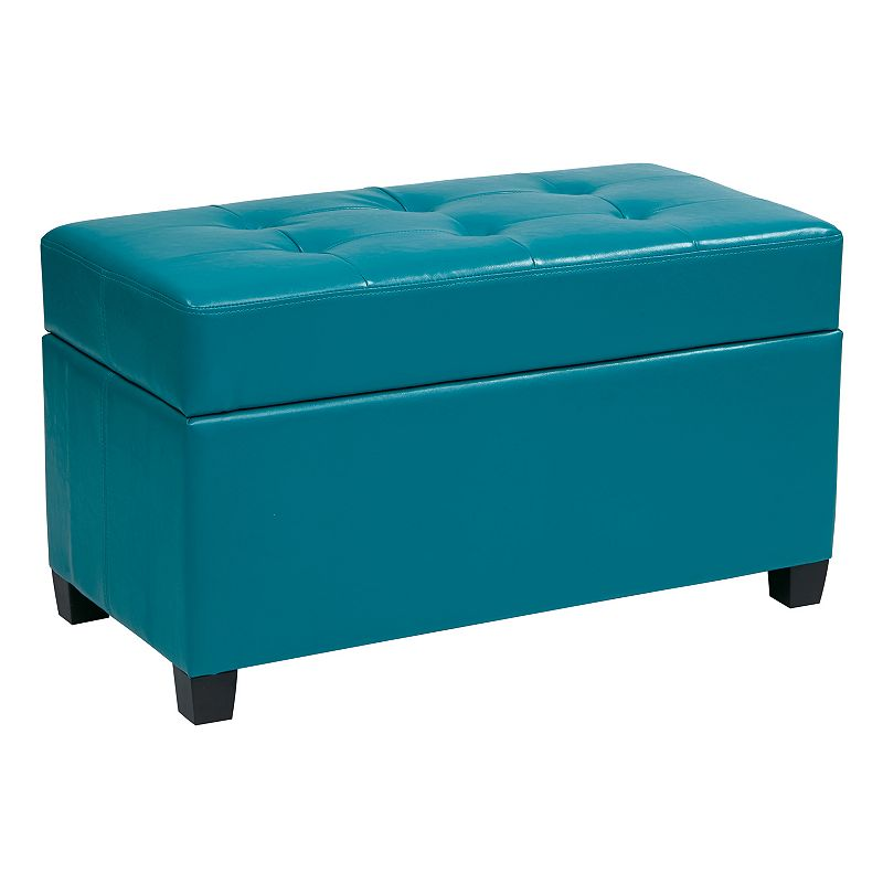 Office Star Products Storage Ottoman