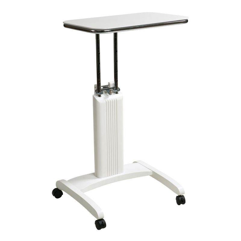 Office Star Products Precision Laptop Stand, White