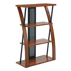 Office Star Products Aurora Bookcase by