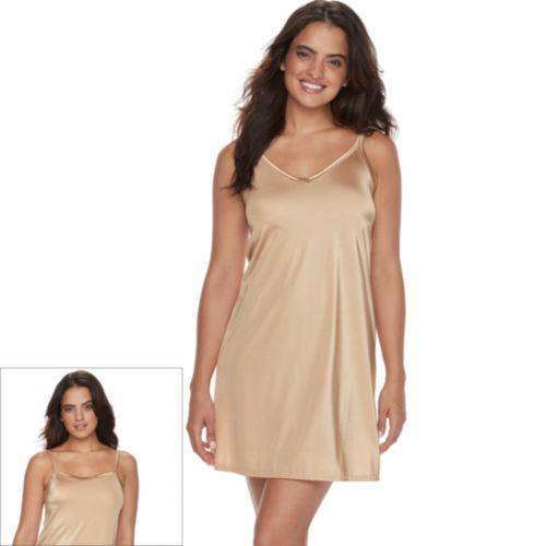 Vanity Fair Daywear Solutions Spinslip 18-in. 10158 - Women's