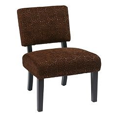 Office Star Products Accents Maze Jasmine Accent Chair by