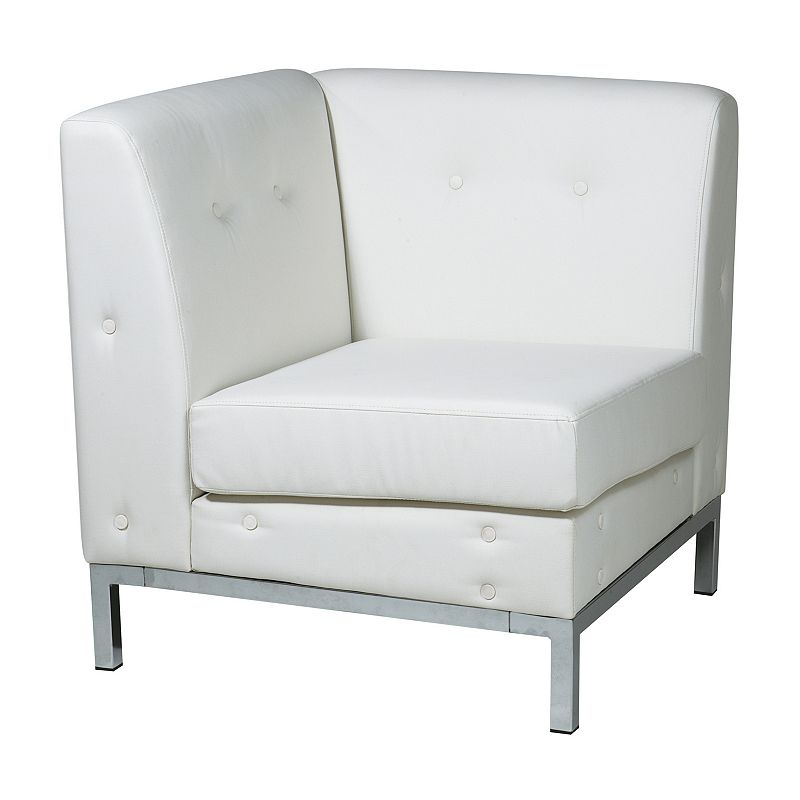 Avenue Six Wall Street Corner Chair