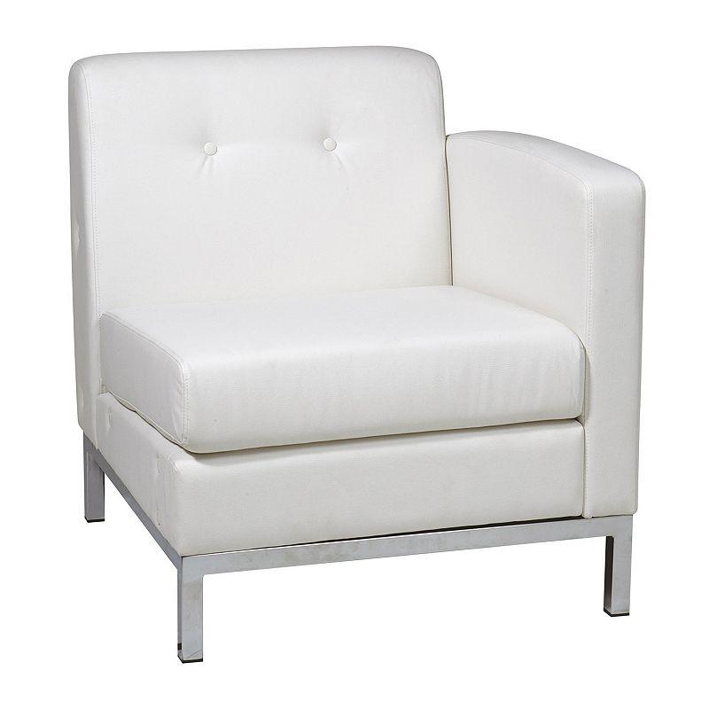 Avenue Six Wall Street Corner Arm Chair