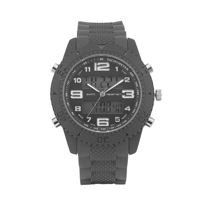 REGIMEN Men's Military United States Marine Corps Analog & Digital Chronograph Watch
