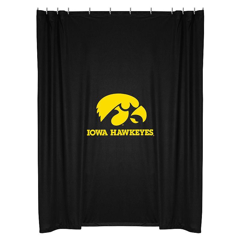 Iowa Hawkeyes Shower Curtain