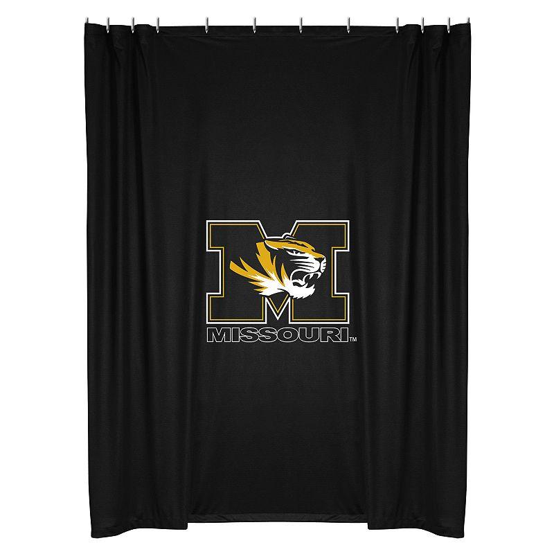 Missouri Tigers Shower Curtain