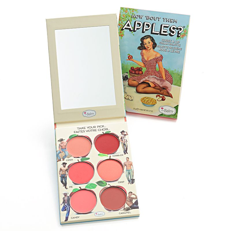 theBalm How Bout Them Apples Cheek and Lip Cream Palette