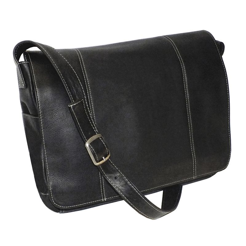 Royce Leather Vaquetta 13-in. Laptop Messenger Bag