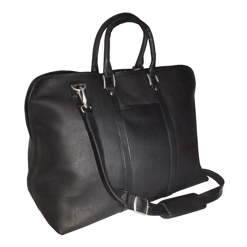 Royce Leather Vaquetta Gateway 25-in. Duffel Bag, Black