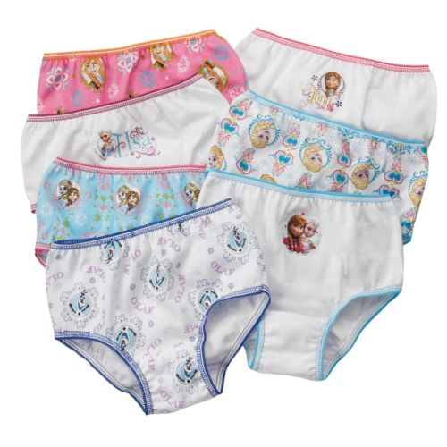 Disney Frozen 7-pk. Briefs - Toddler