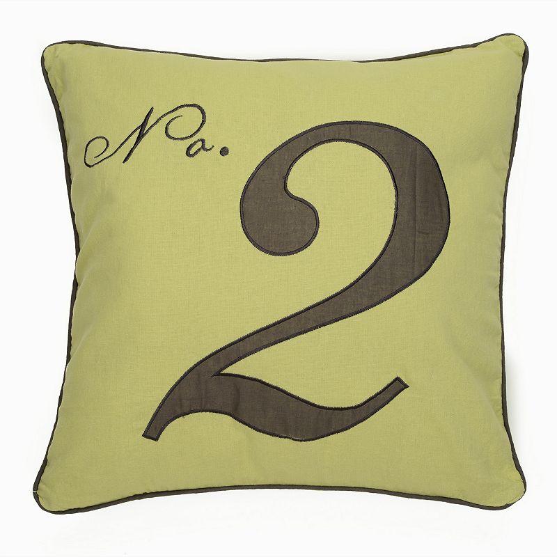 Black Toile No. 2 Decorative Pillow