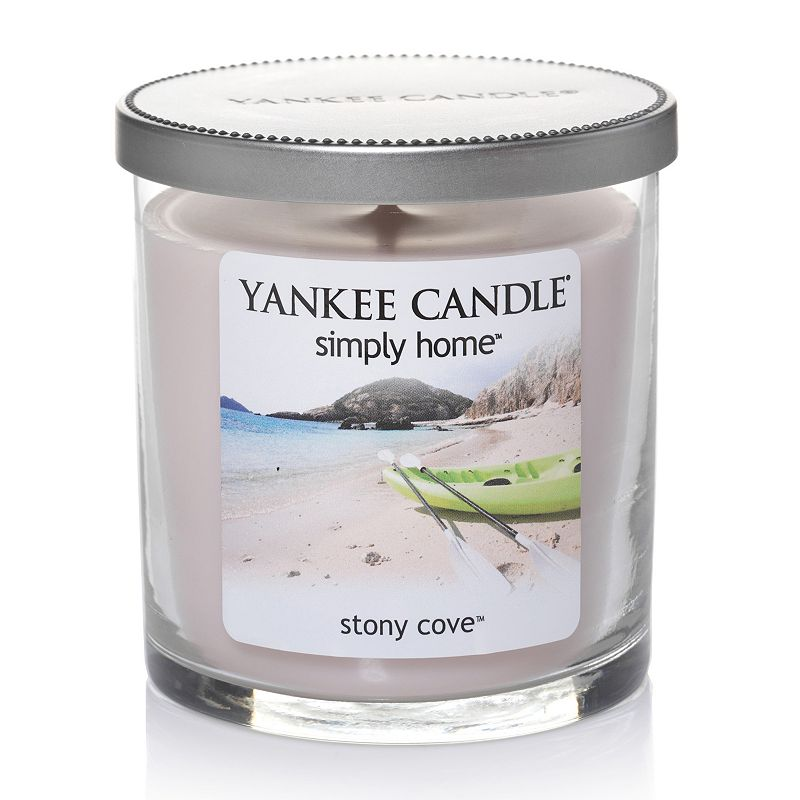 Yankee Candle simply home 7-oz. Stony Cove Soy Jar Candle