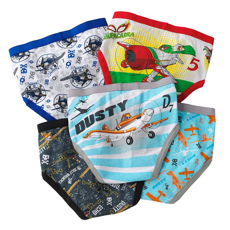 Boys Disney Planes 5-pk. Briefs