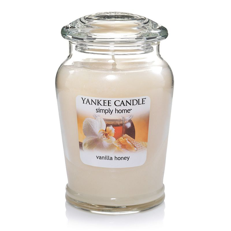 Yankee Candle simply home 19-oz. Vanilla Honey Soy Jar Candle
