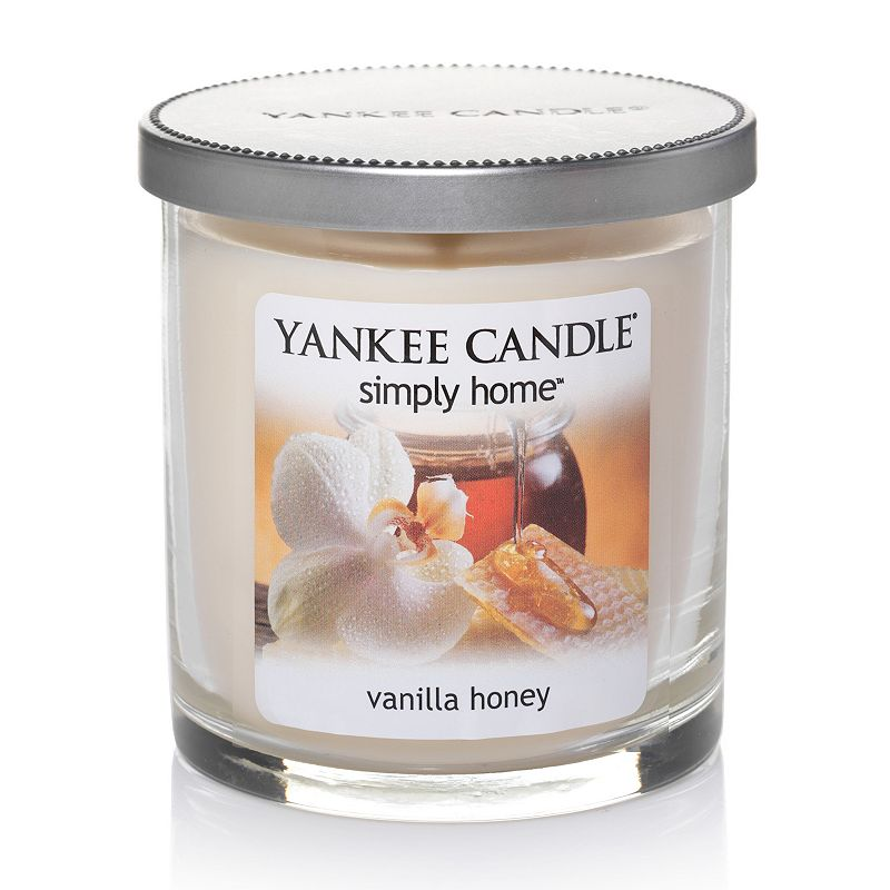 Yankee Candle simply home 7-oz. Vanilla Honey Soy Jar Candle