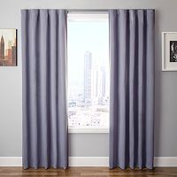 Softline Simple Drape 4-pc. Window Panel & Curtain Rod Set