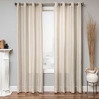 Softline Zanzibar Striped Window Panel - 50