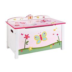 Guidecraft Butterfly Buddies Toy Box by