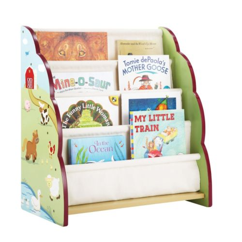 Guidecraft Farm Friends Book Display