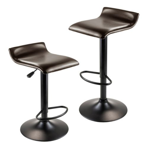 Winsome Paris 2 Pc Airlift Swivel Stool Set